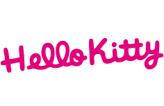 Hello kitty created for kids logo